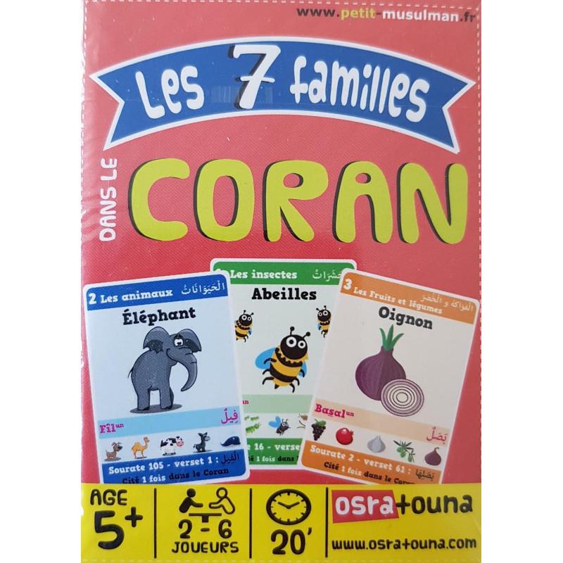 Jeu de 7 familles dans le Coran (2 à 6 joueurs - Dès 5 ans)