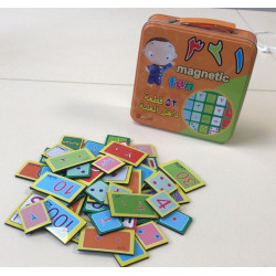 Magnetic Fun - Jeu de magnets de chiffres arabes (indiens)