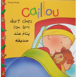 Caillou dort chez son ami ... كايو ينام عند صديقه