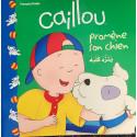 Caillou promène son chien ... كايو ينزه كلبه