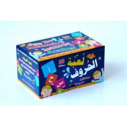 Jeu de mémoire des lettres arabes