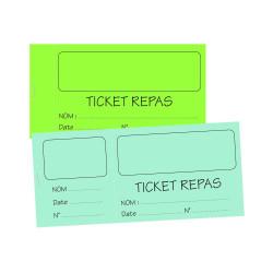 Ticket Repas stage vacance