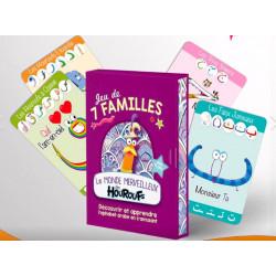 monde merveilleux  des houroufs : jeu des 7 familles