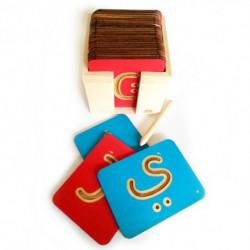 Planches de lettres arabe à tracer