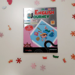 Voyage Anglais Maternelle (cahier d'exercice)