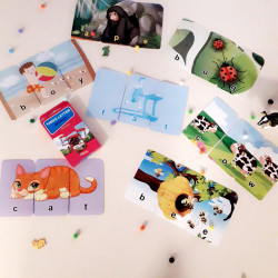 Three Letter Words (Puzzle cards)