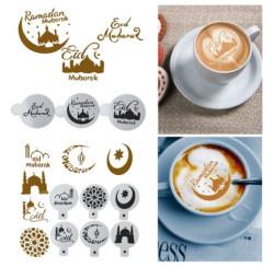 Lot de 3 Pochoirs à gâteaux ou activités manuelles pour Ramadan et l'Aïd