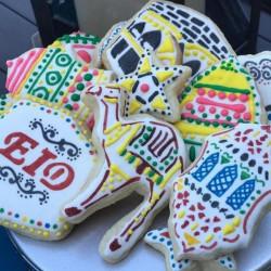 Lot de 12 emporte-pièces islamique Ramadan pour décoration de fête de l'Eid Moubarak