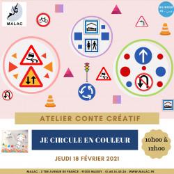 Atelier - Je circule en couleur - Jeu 18 février 2021