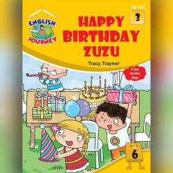 """Happy Birthday Zuzu """"level 3"""""""