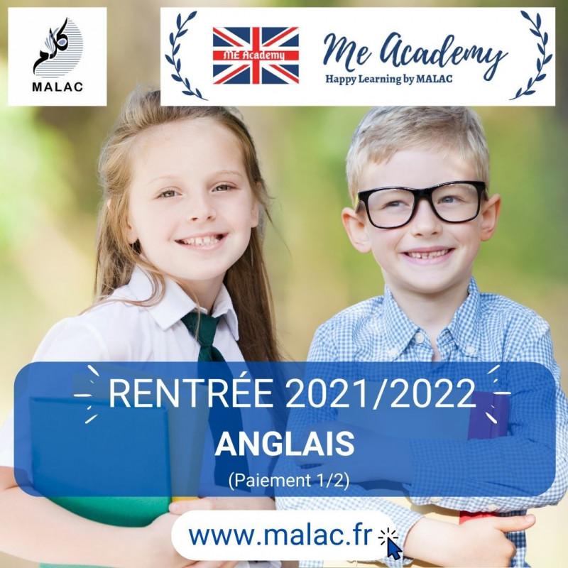 Anglais (part1/2) - Inscription 2021/2022