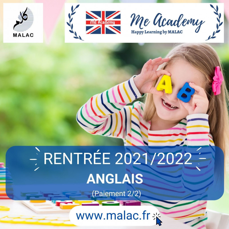 Anglais - Support 2020/2021