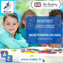 MONTESSORI AR/ANG - Support 2020/2021