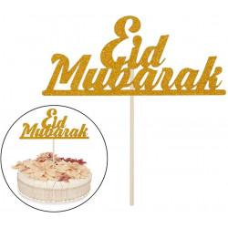 """Décoration gâteau """"Eid Mubarak"""""""